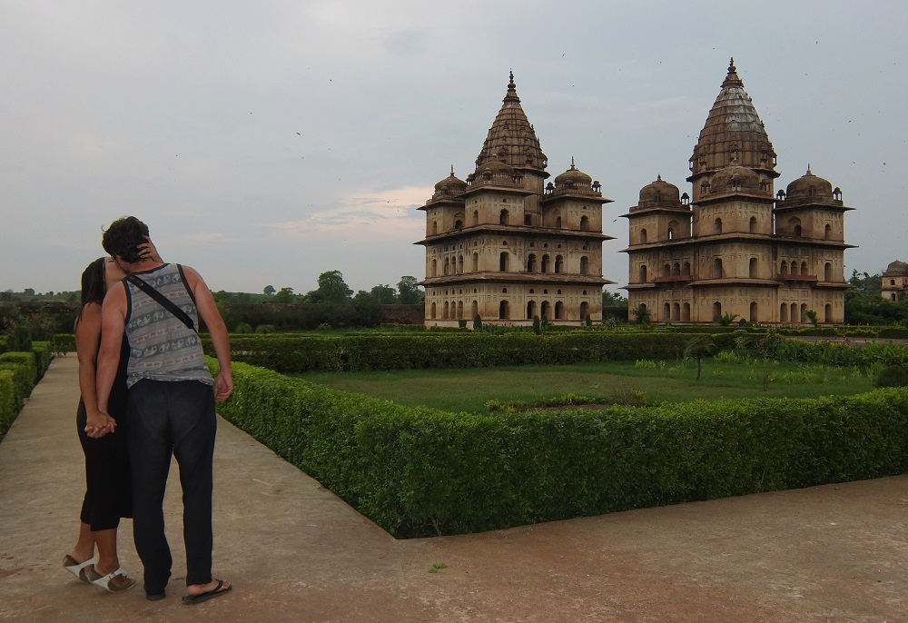engagement in Orchha India