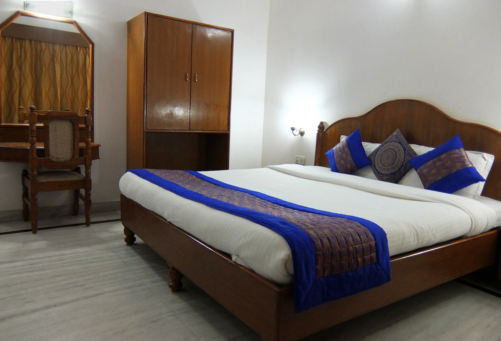 Hotel Room at Hotel Isabel Palace in Khajuraho, India
