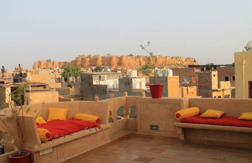 Seating Area - Hotel Pleasant Haveli - Boutique Hotel Review
