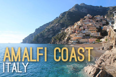 Amalfi Coast in Italy - Natural Wonders