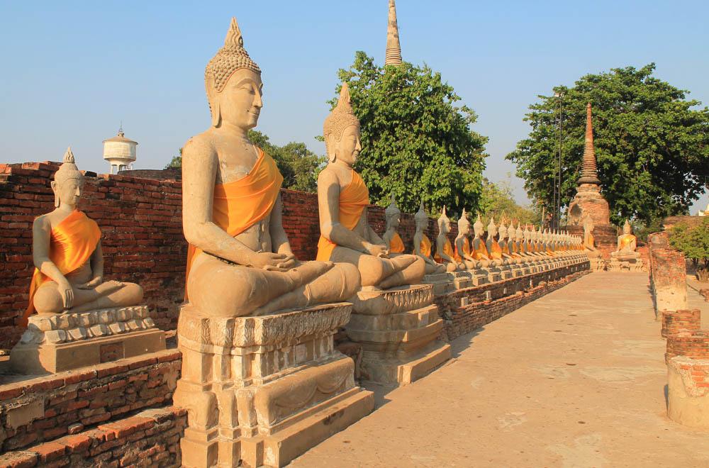 Wat Yat Chai Mongkhol - Ayutthaya vs Sukhothai - Best Ancient Ruins in Thailand