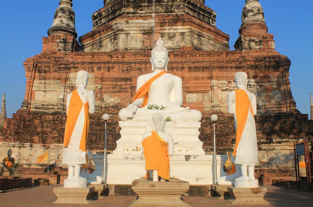 Wat Yai Chai Mongkhon - Ayutthaya vs Sukhothai - Best Ancient Ruins in Thailand