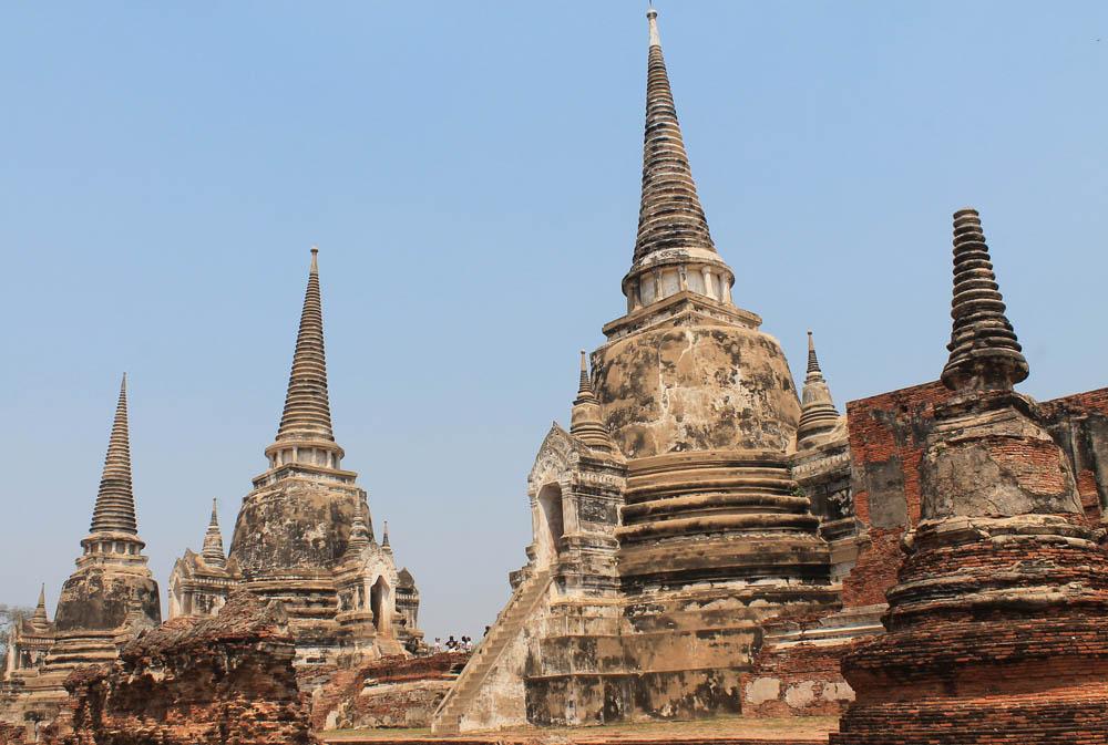 Wat Phra Si Sanphet - Ayutthaya vs Sukhothai - Best Ancient Ruins in Thailand