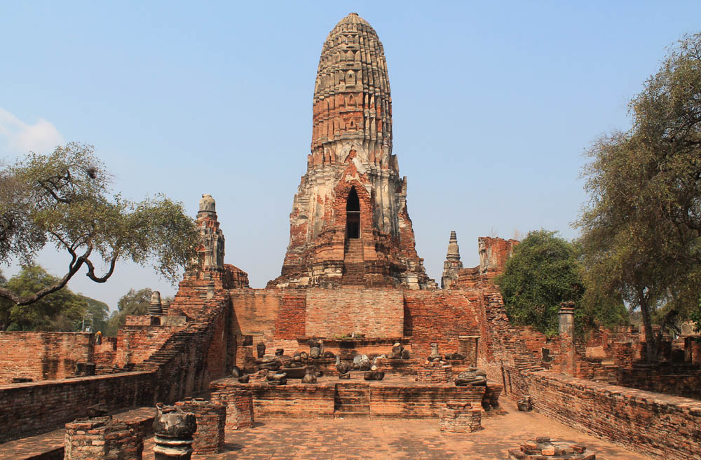 Wat Phra Ram - Ayutthaya vs Sukhothai - Best Ancient Ruins in Thailand