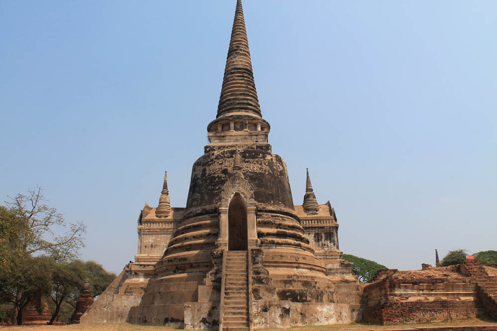 Wat Phra Si Sanphet - Chedi - Ayutthaya vs Sukhothai - Best Ancient Ruins in Thailand