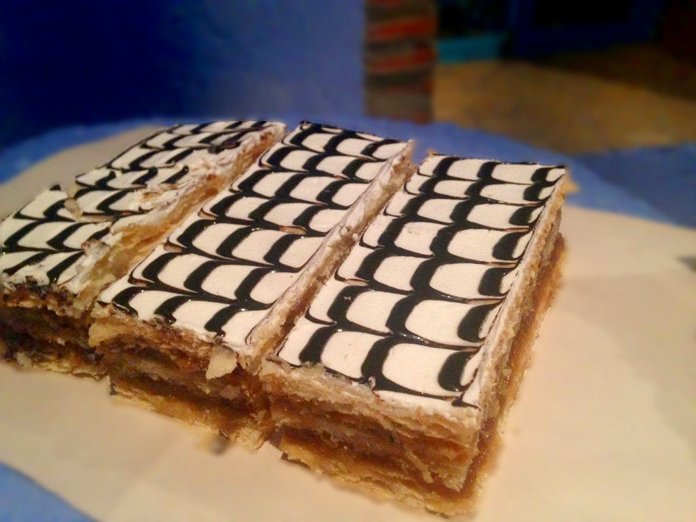 Eat Mille Feuille - One of the Awesome Things to Do in Morocco
