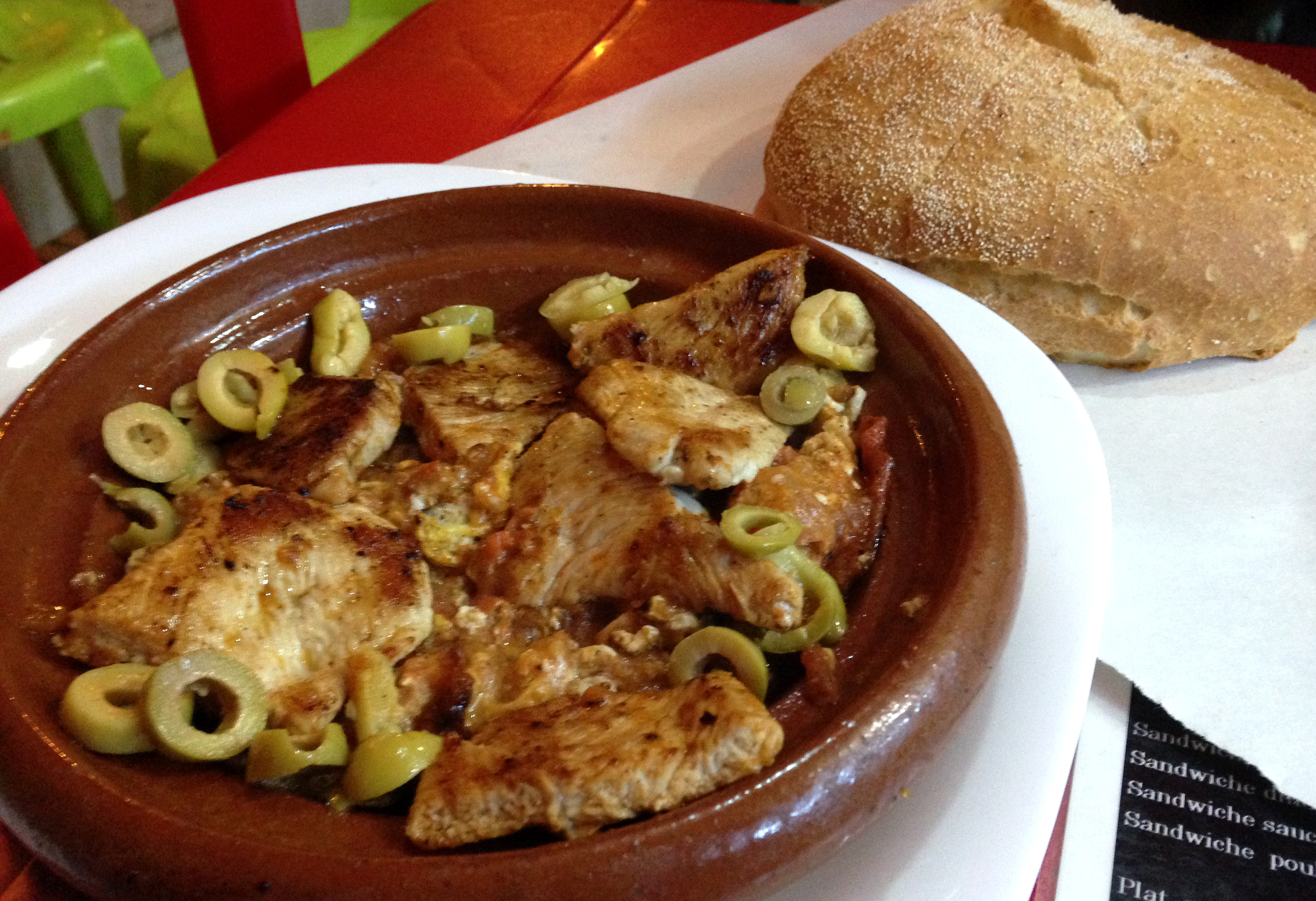 Eat Tajine de Pollo - One of the Awesome Things to Do in Morocco
