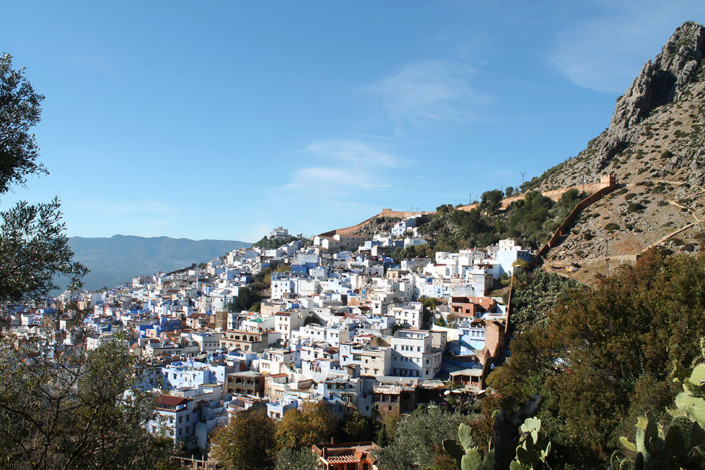 Chefchaouen from Rif Mountains - One of the Awesome Things to Do in Morocco