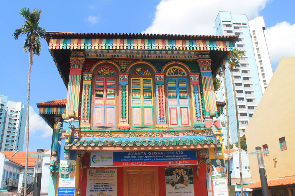 Shop houses in Little India - Best Free Things to Do in Singapore