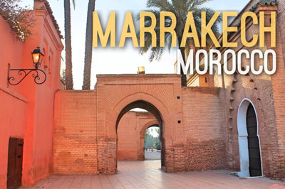 Marrakech Morocco -Urban Escapes