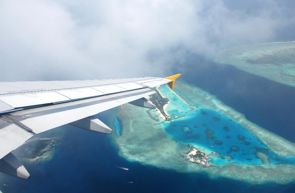 Flight - Mid-Range Maldives Resort Experience - Asdu Sun Island