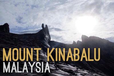 Mount Kinabalu in Malaysia - Natural Wonders