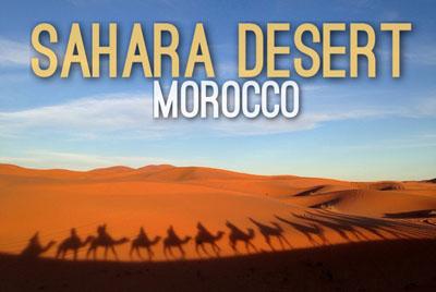 Sahara Desert in Morocco - Natural Wonders