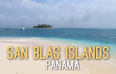 San Blas Islands in Panama -