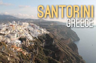 Santorini in Greece - Urban Escapes