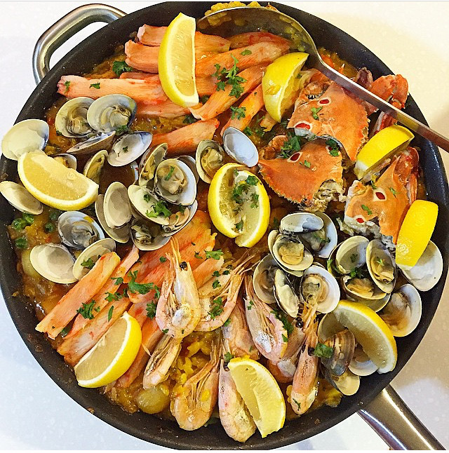 Paella - Lunch - Must Try Filipino Foods - How to Eat Like a Local in the Philippines
