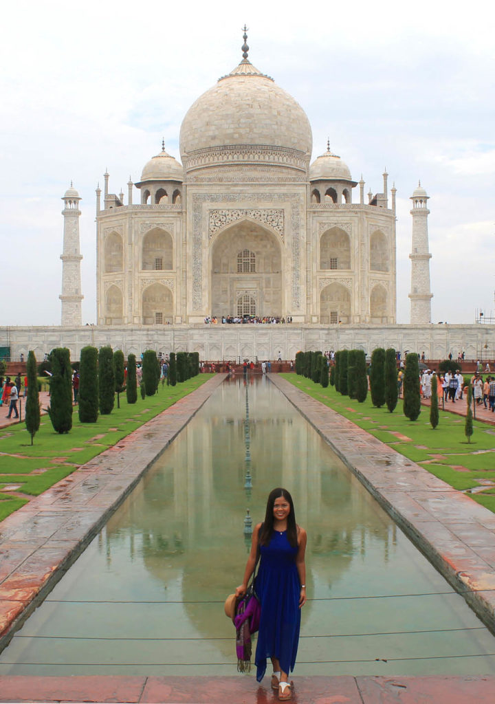 Woman Taking Photo at Taj Mahal - Exploring the Wonder of the World, Taj Mahal