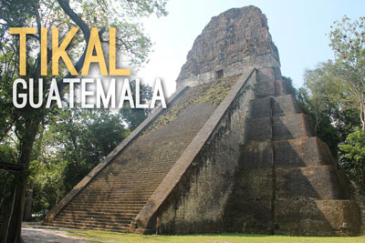 Tikal in Guatemala - Historic Wonders