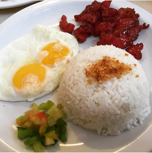 Tosilog - Breakfast - Must Try Filipino Foods - How to Eat Like a Local in the Philippines