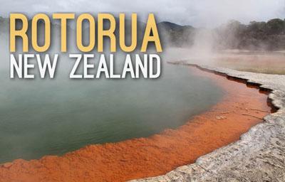 Wai O Tapu Rotorua in New Zealand  - Natural Wonders