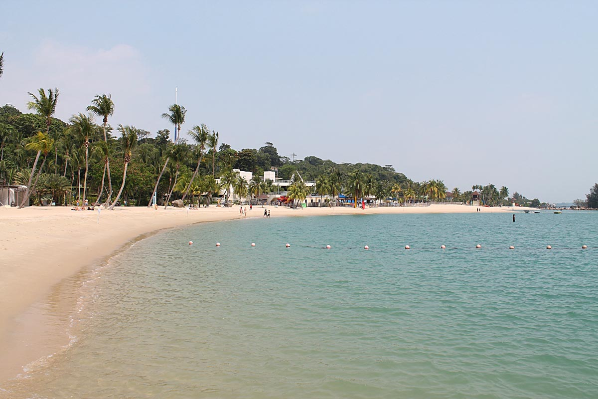 Palawan Beach in Sentosa - Best Free Things to Do in Singapore
