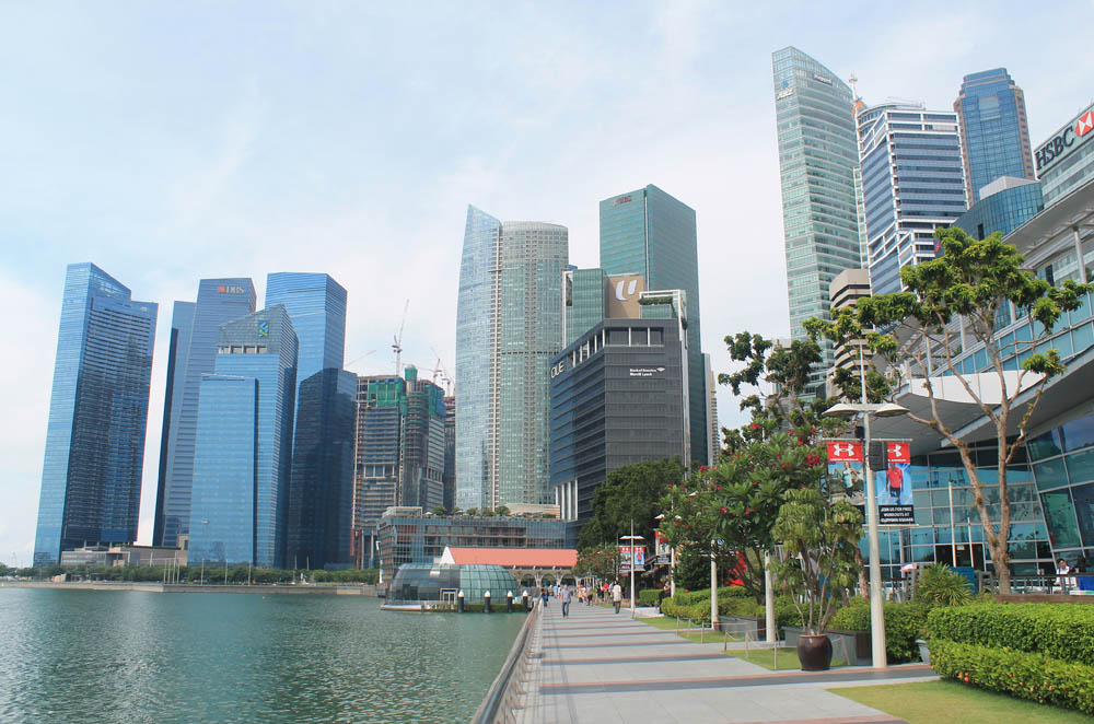Marina Bay - Best Free Things to Do in Singapore