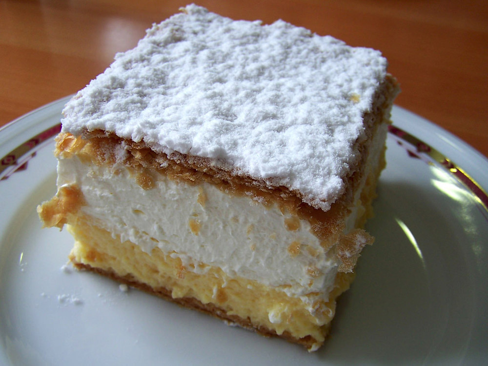 Bled Cream Cake - Best Things to Do in Bled Slovenia
