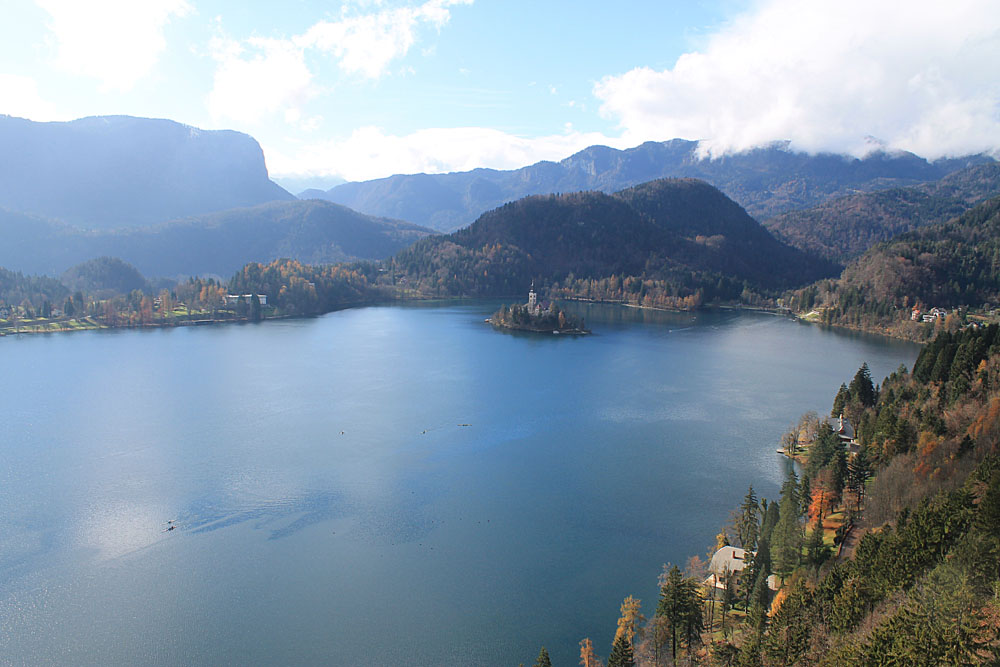 View of Lake Bled - Best Things to Do in Bled Slovenia