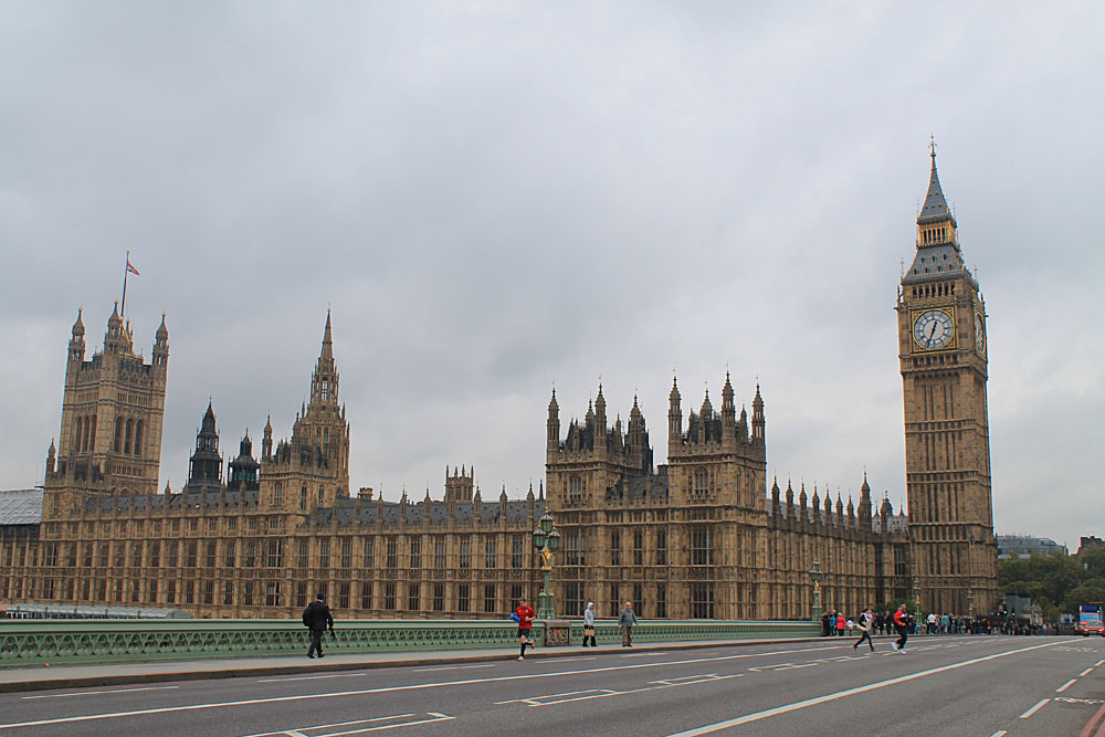 One week in England: Big Ben and Westminster Abbey