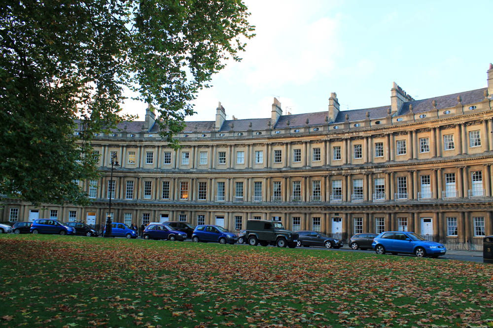 One week in England: Houses in Bath