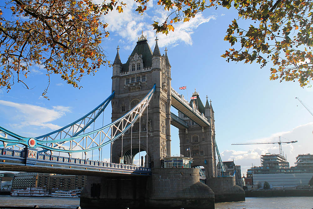 One week in England: The Tower Bridge