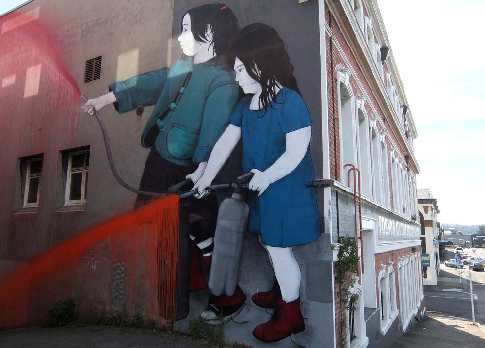 Dunedin Street Art Trail - New Zealand - BeFree
