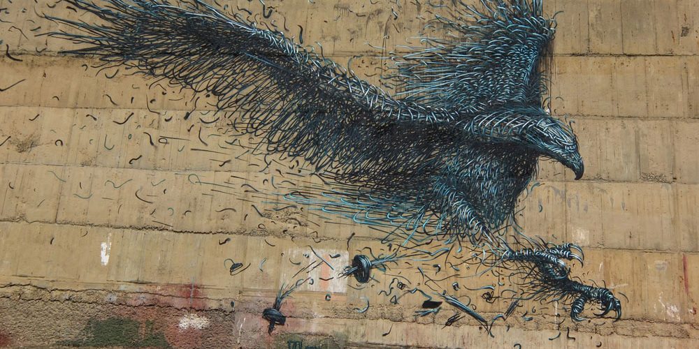 Dunedin Street Art Trail - New Zealand - DALEast - Chinese Artist