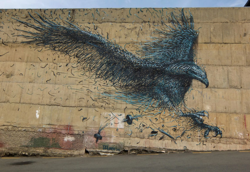 Dunedin Street Art Trail - New Zealand - DALEast - Chinese Artist