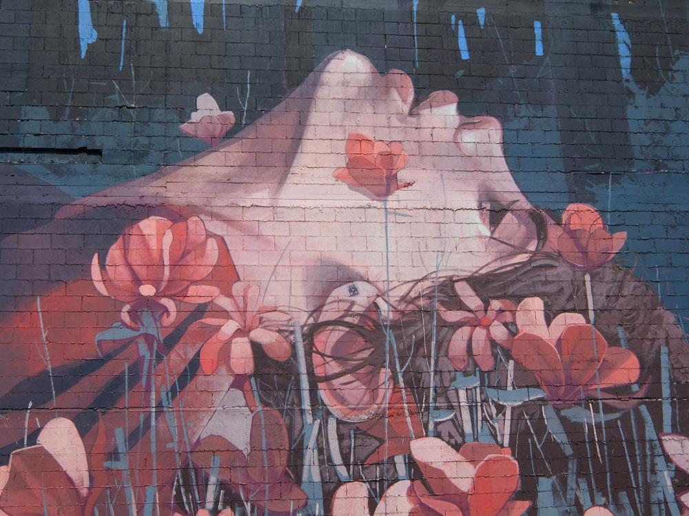 Dunedin Street Art Trail - New Zealand - Etam Cru - Girl