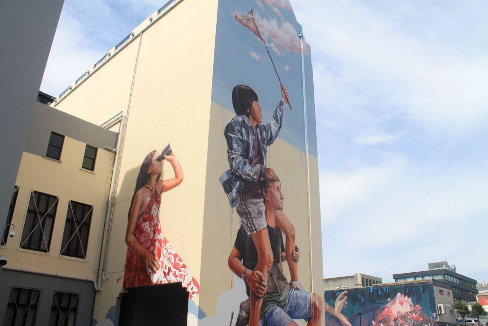 Dunedin Street Art Trail - New Zealand - Chasing Clouds