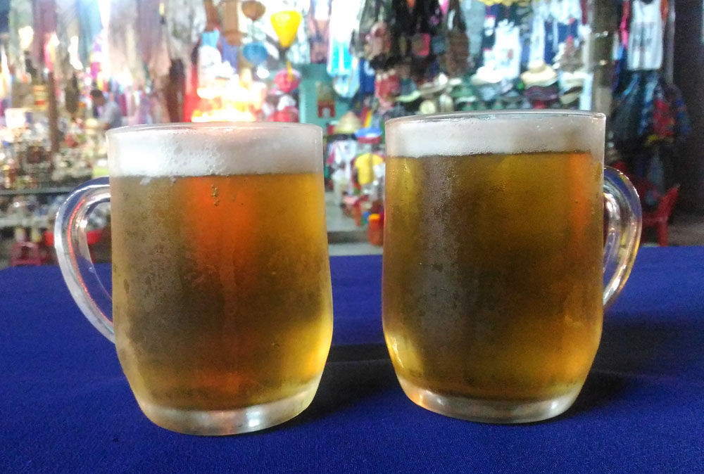 Bia Hoi - Fresh Beer - Must Try Foods in Hoi An Vietnam