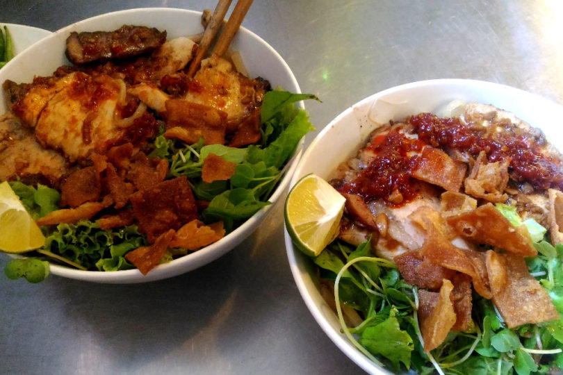 Cau Lao and Bun Thit Nuong Noodles - Must Try Foods in Hoi An Vietnam