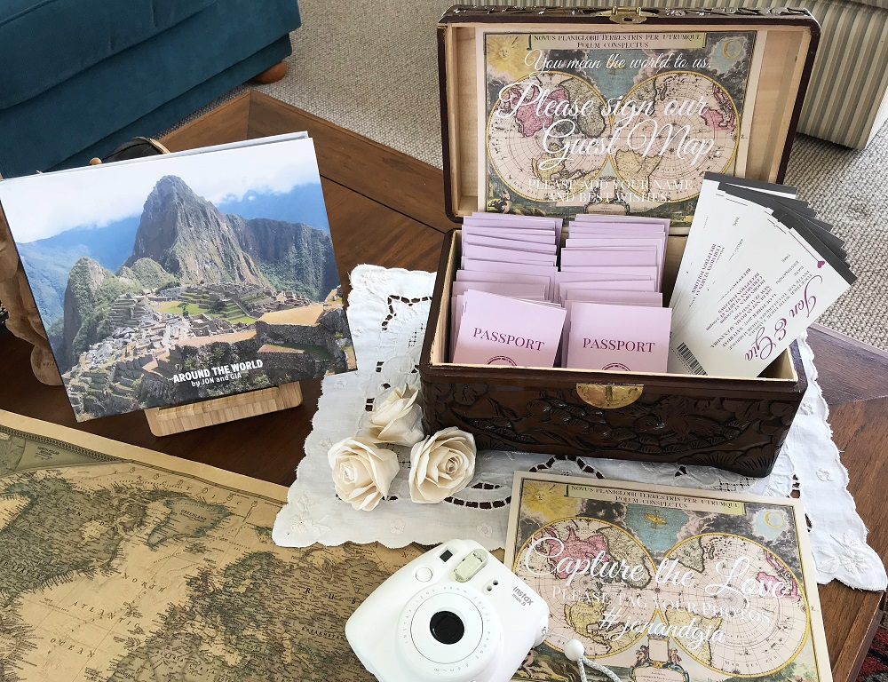 12 Awesome Ideas For A Travel Themed Wedding Mismatched Passports