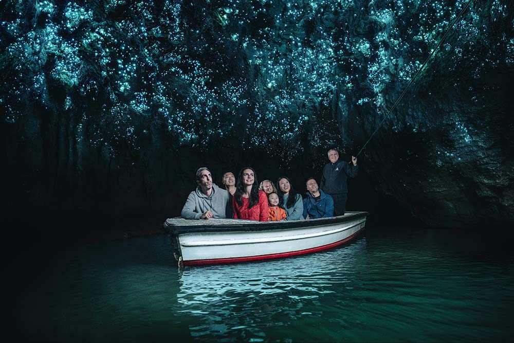 Waitomo Glowworm Boat Tour