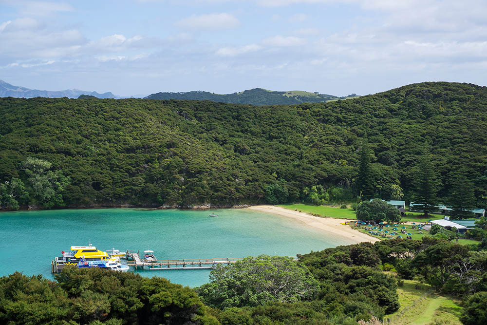 Otehei Bay, Bay of Islands, New Zealand