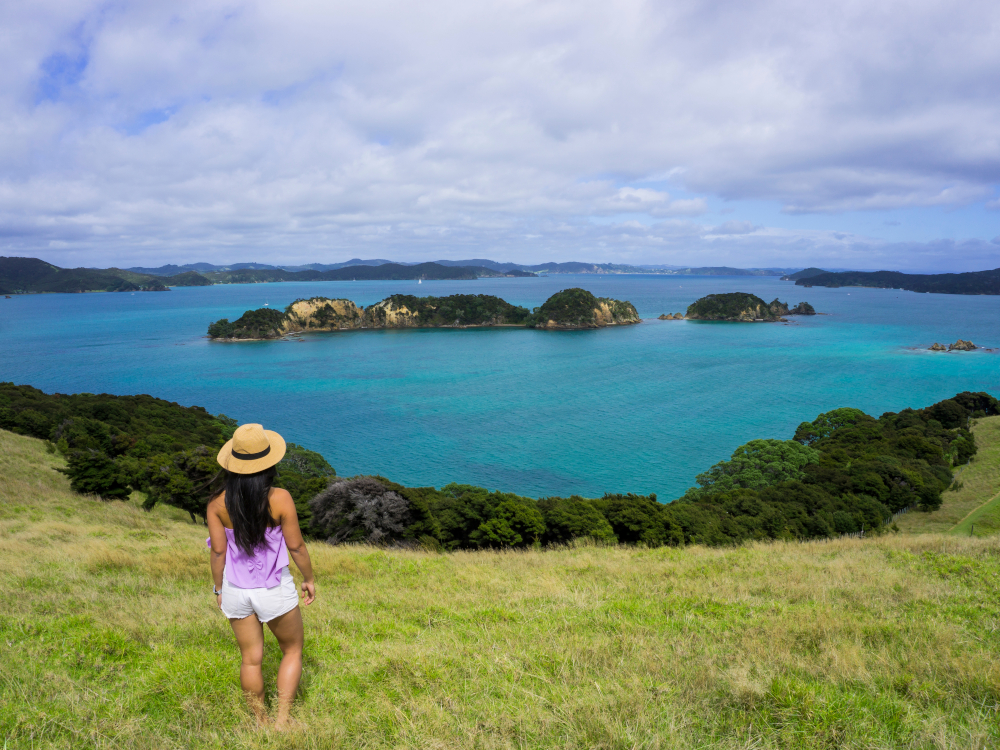 Otehei Bay Viewpoint, Bay of Islands, New Zealand